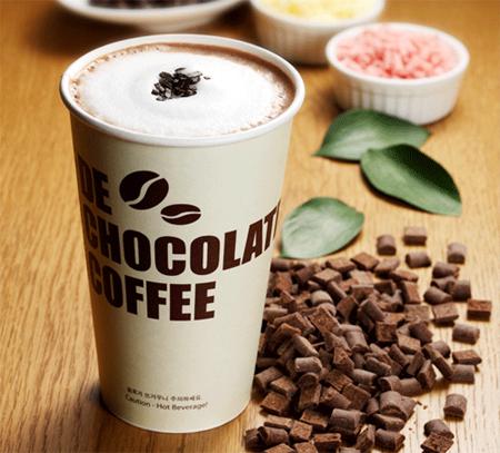 ≪디 초콜릿 커피≫ - 리얼 딥 초콜릿