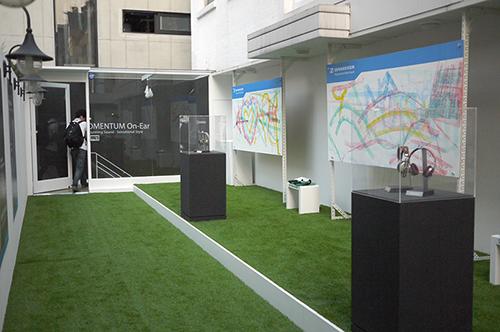 젠하이저 모멘텀 온이어 출시 행사