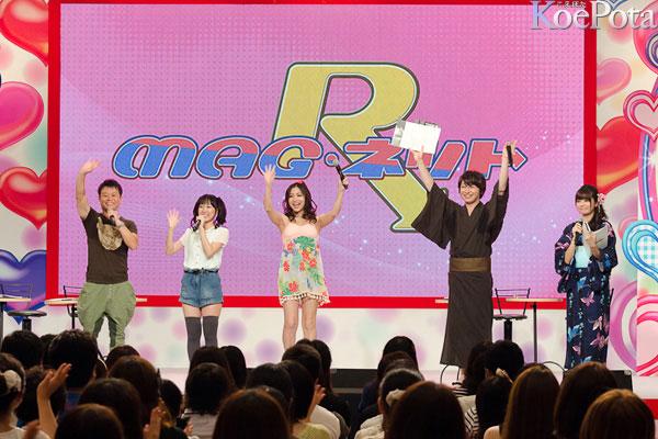 NHK MAG넷 하루 한정 부활 무대 리포트 사진 몇장