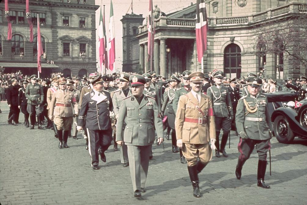 컬러로 보는 나치독일 수뇌부