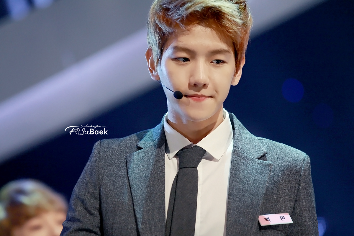 Pics For > Byun Baekhyun Growl