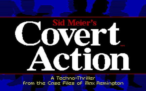 [DOS] 시드 마이어의 코버트 액션(Sid Meier's..