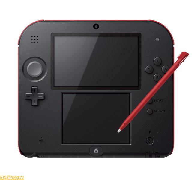 '닌텐도2DS'라는 게임기가 새로 나오는 모양이네요.