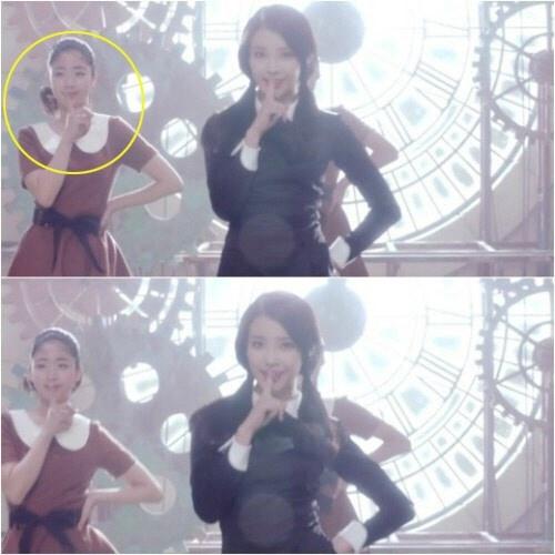 정은우 연습생 시절, 아이유 너랑 나 뮤비 출연