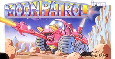 [MSX] 문 패트롤 (Moon Patrol, 1984, DEM..