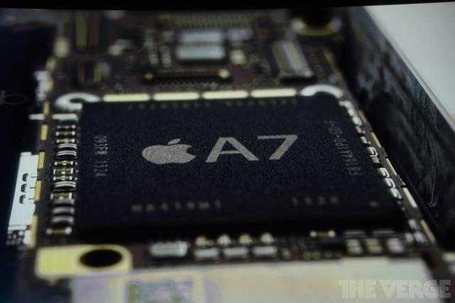 iPhone 5S: 64-bit A7 칩 탑재는 홍보용일 뿐.....