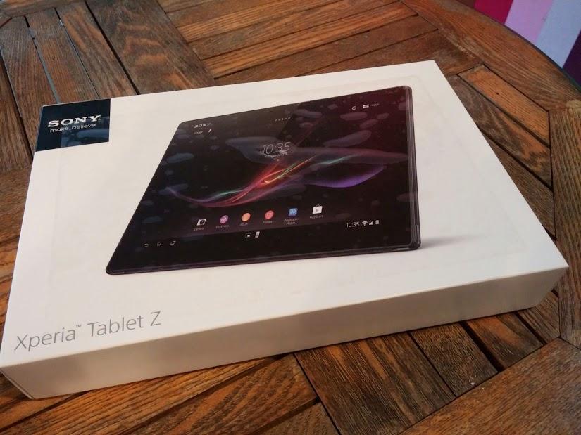 소니 엑스페리아 태블릿Z, 오픈 케이스