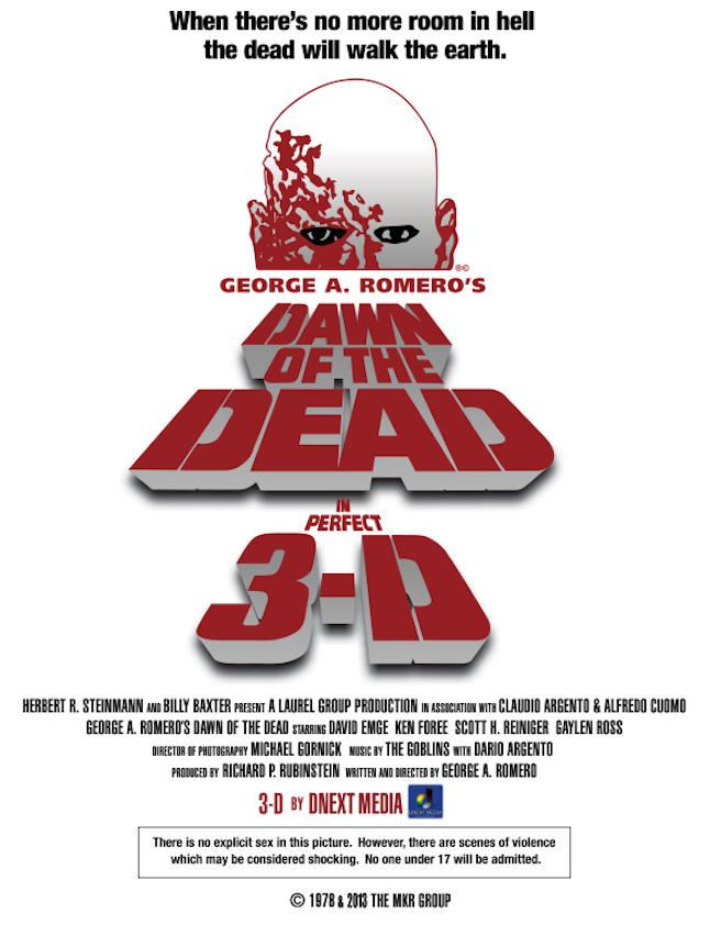 조지 로메로의 새벽의 저주 3D - 좀비 바이러스는 누..