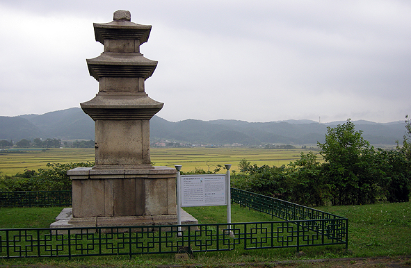 황복사터 삼층석탑, 그리고 보문들