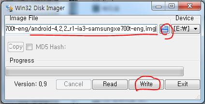 How to install Android on Samsung ATIV Pro