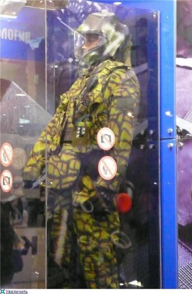 화학병을 위한 신형방호복 '볼코다프'