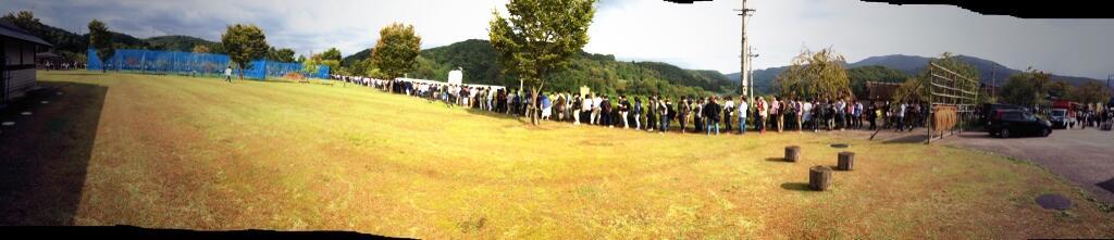 제 3회 봉보리 마츠리, 쏟아지는 빗속에서 1만명의 ..