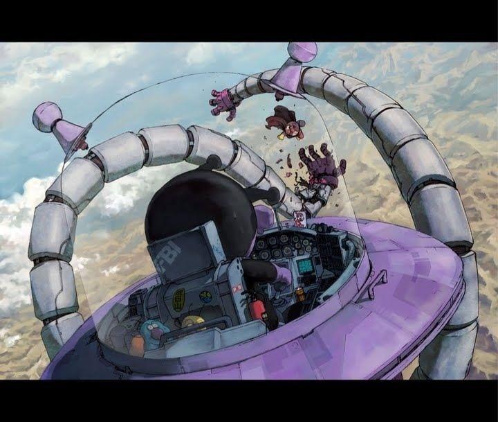 《날아라 호빵맨》세균맨이 만든 메카는……