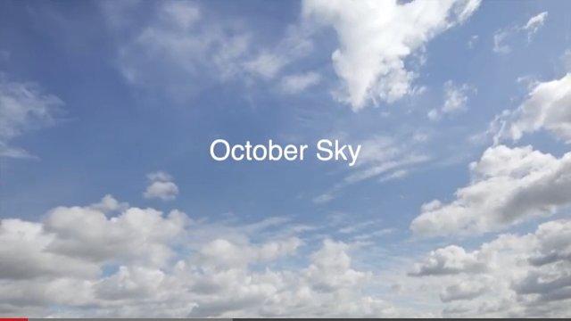 10월의 하늘 - 오늘의 과학자가 내일의 과학자를 ..