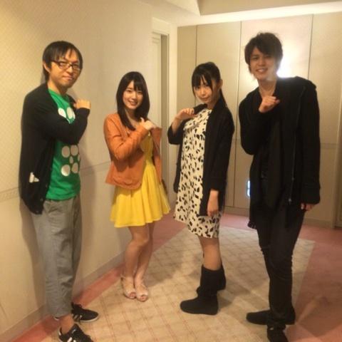 성우 우치다 마아야씨의 블로그에 올라온 사진