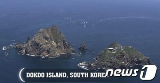 독도 홍보 동영상에 일본영상 사용한 정신나간 정부