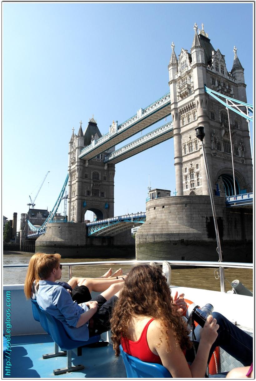 런던의 走船(?)看山 - 크루즈 여행