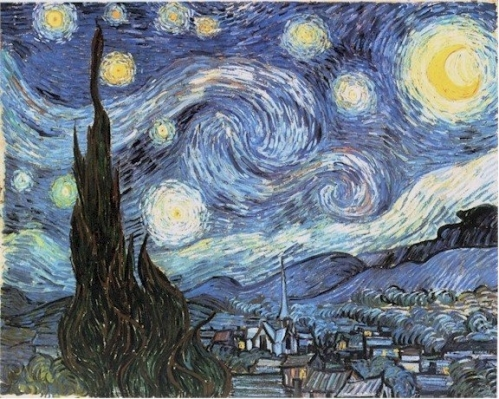 별이 빛나는 밤 (The Starry Night)-Vincent ..