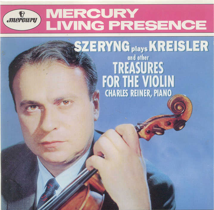 Henryk Szeryng; Recitals at Mercury & Phil..