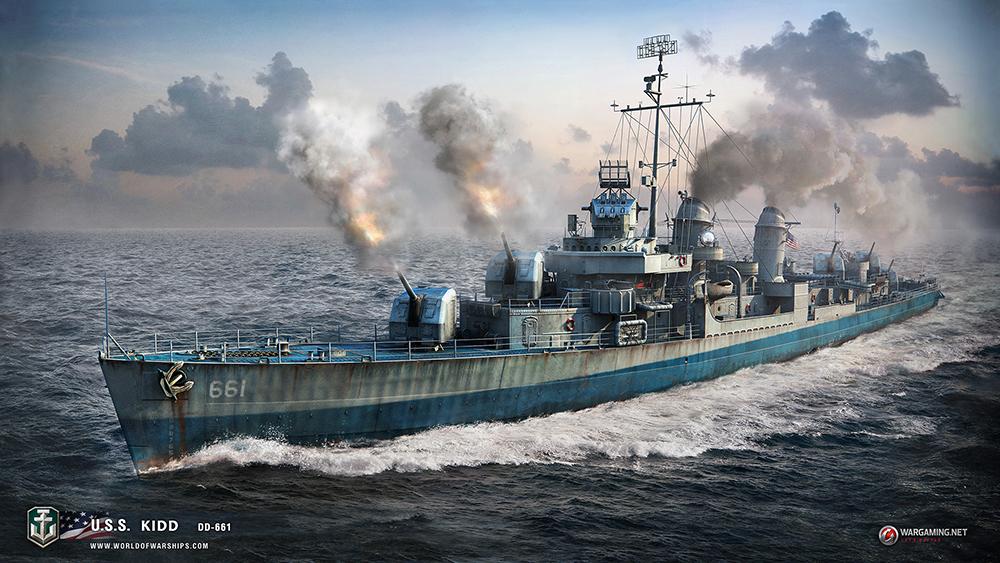 [WoWS]월드 오브 워쉽 현재까지 등장 함선들 -..
