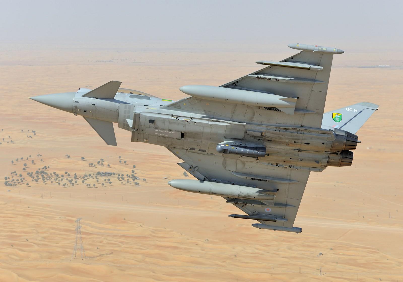 UAE에 타이푼 전투기를 판매하려고 애쓰는 영국 정부