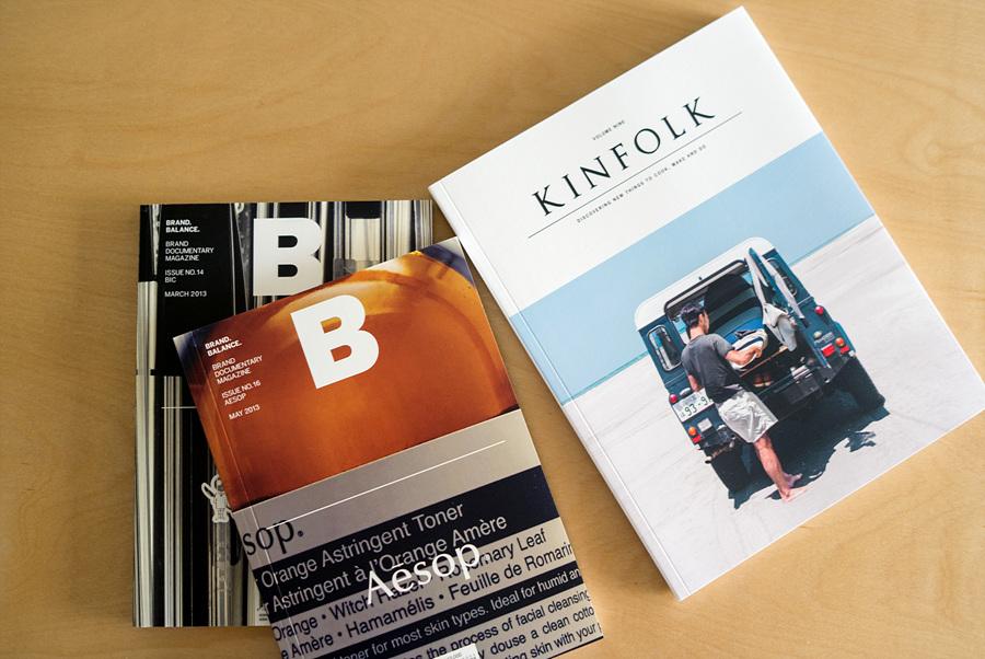 킨포크(Kinfolk), 매거진 B(Magazine B)