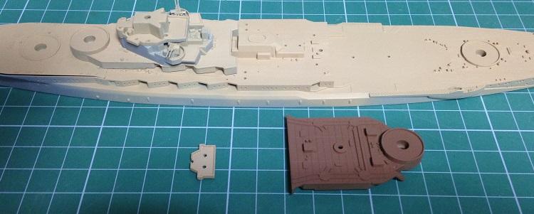함대 콜렉션 워터라인 시리즈 1/700 나가토 제작기 - 4 ..