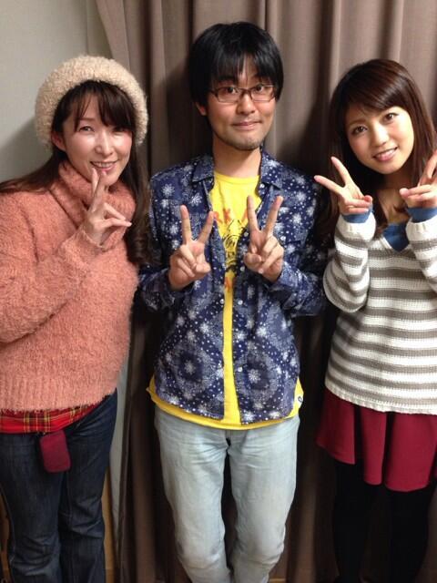 성우 시라이시 료코씨의 트위터에 올라온 사진