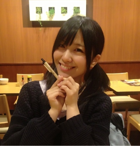 성우 테라카와 아이미씨가 자신의 블로그에 올린 사진