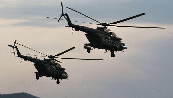 4대의 새로운 Mi-8 무장헬기가 자바이칼에 배치됨요