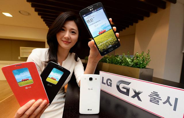 LGU+ 전용 라이프스타일폰, LG Gx 출시