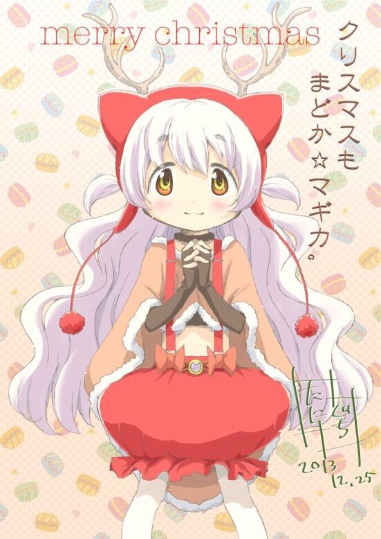 마법소녀 마도카 마기카 총작화감독이 그린 크리스마..