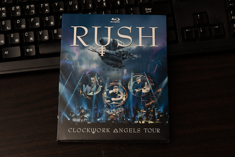 Clockwork Angel Tour - Rush / 2013