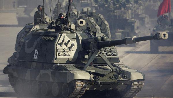 2014년에 서부군관구에 무스타 개량형을 가진 '자주..