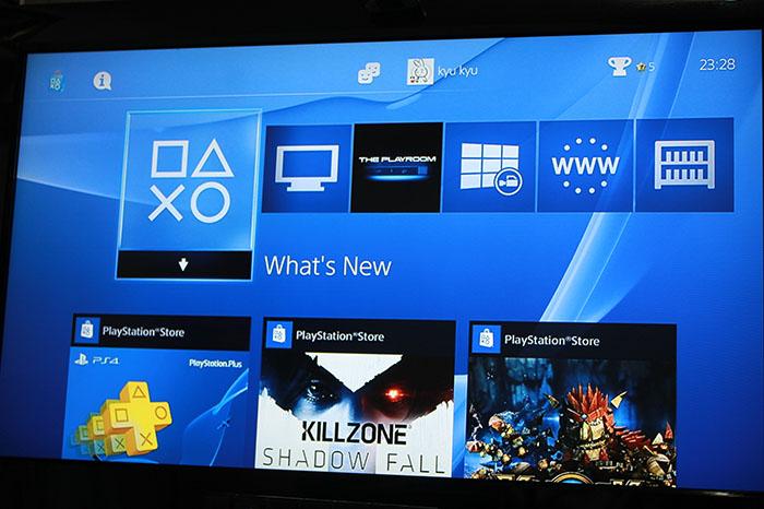 PS4 UI 및 각 메뉴 소개