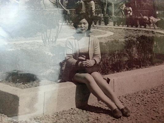 엄마의 옛날 사진