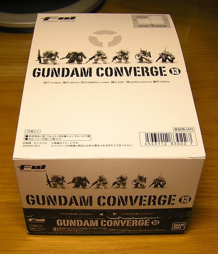 GUNDAM CONVERGE part 13 #75,76
