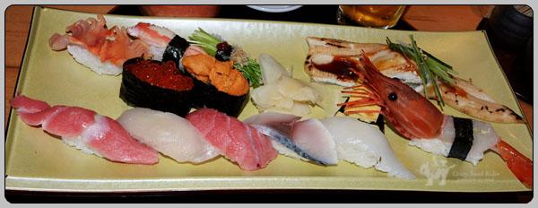 [도쿄 시부야] 저녁 식사하러 다시 갔던 스시잔마이