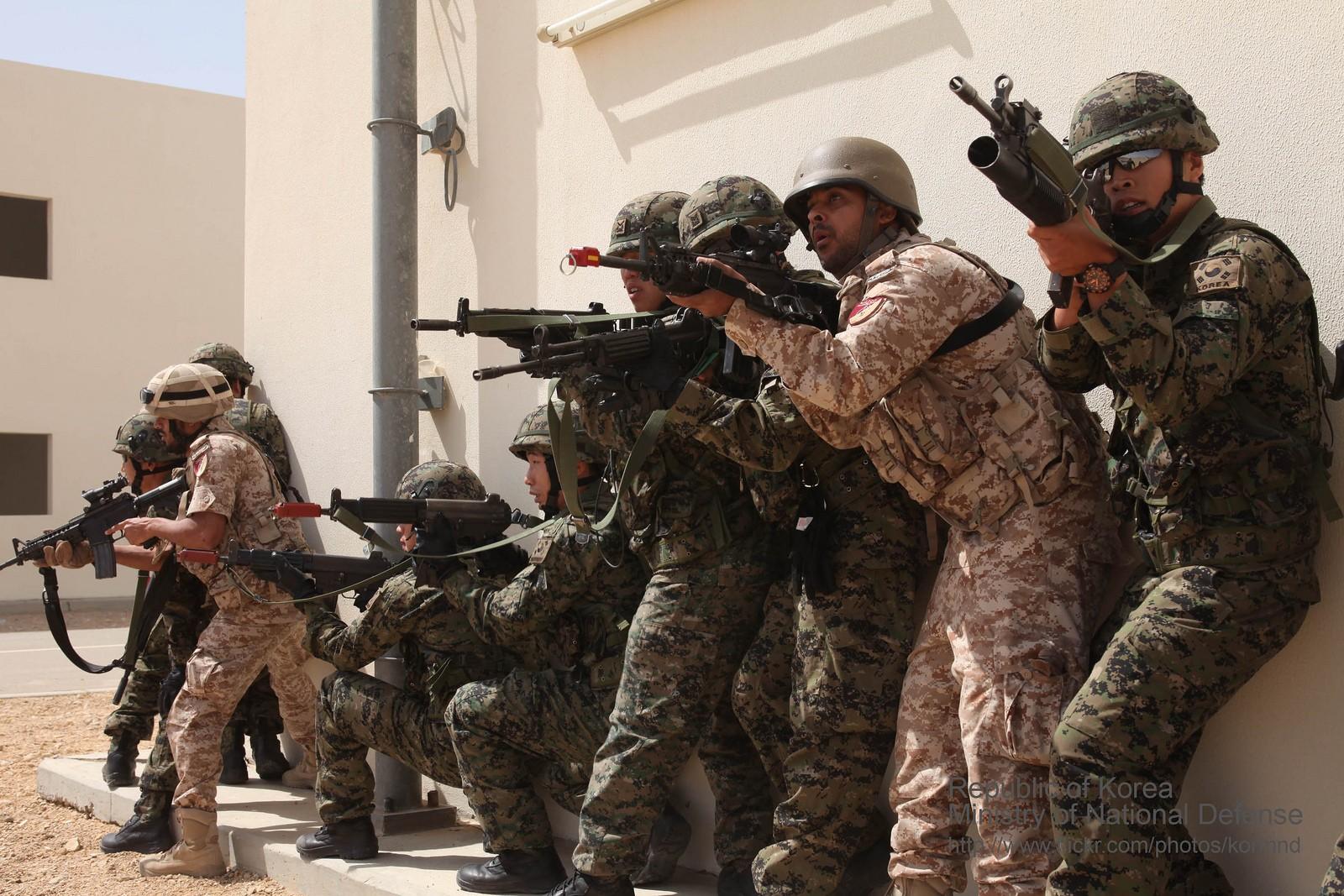 의무복무병제를 도입하는 아랍 에미리트연합