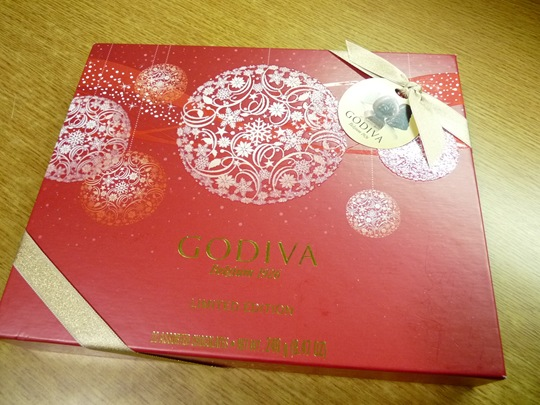 설연휴에 함께하는 `고디바` 초콜릿
