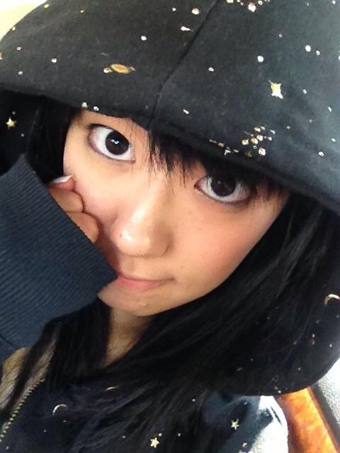 성우 미사와 사치카가 자신의 블로그에 올린 셀카 사진