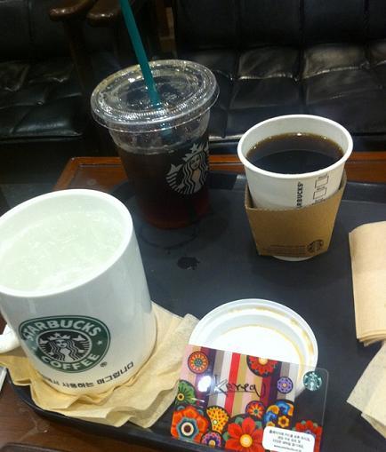 카츄사와 오늘의 커피, 화정점 스타벅스 14. 1. 30.
