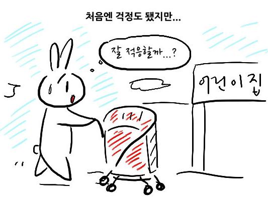[제117회] 뀨뀨의 육아일기 제116화. 어린이집