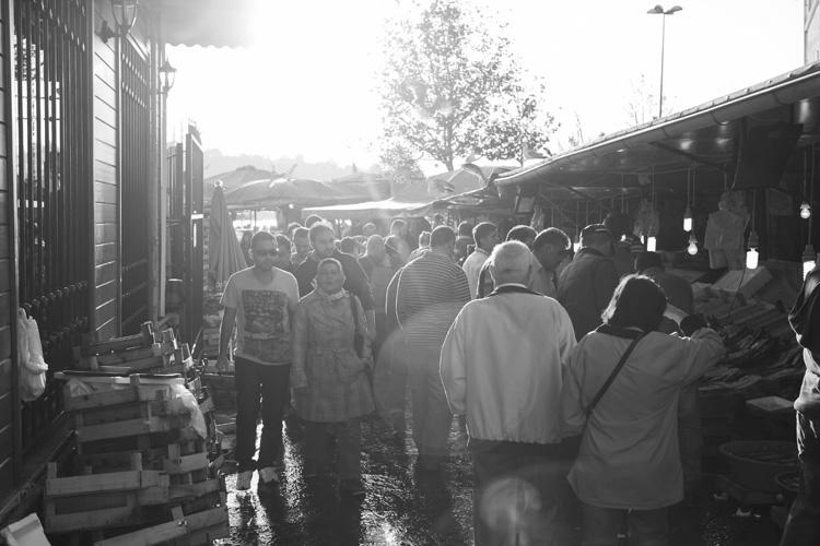 흑백사진 시리즈. 이스탄불