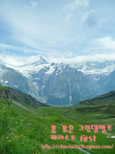이곳저곳:D ] #그린델발트 #스위스 #피르스트 ..