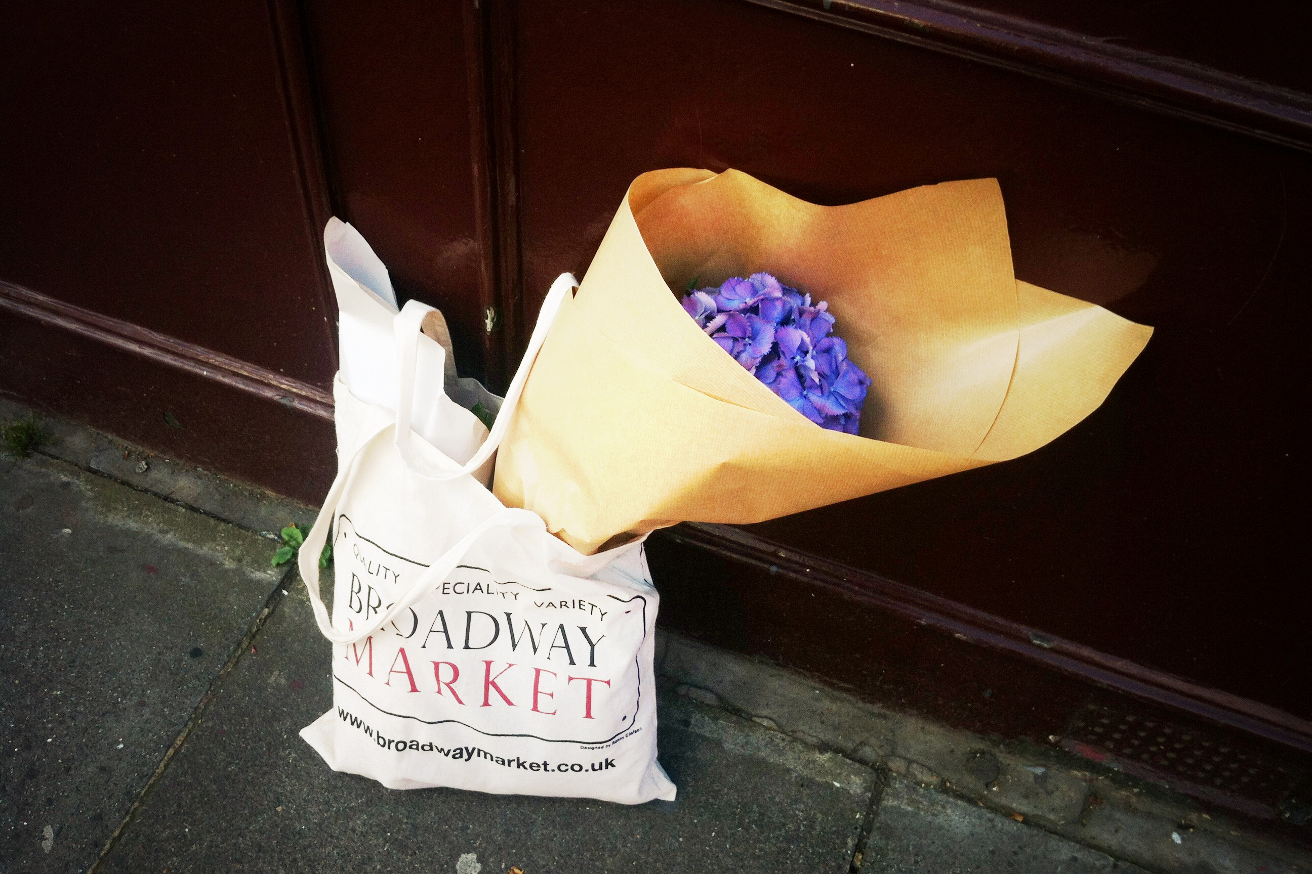 London#  Columbia Road Flower Market