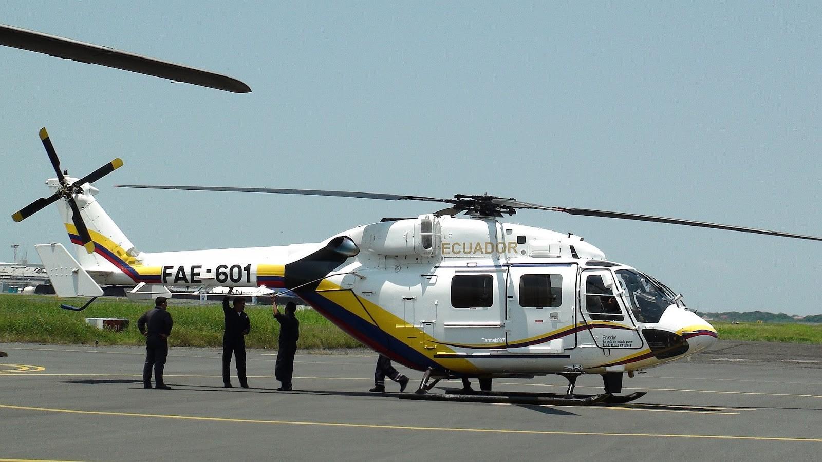 에콰도르에서 또다시 추락한 인도제 드루브 헬기