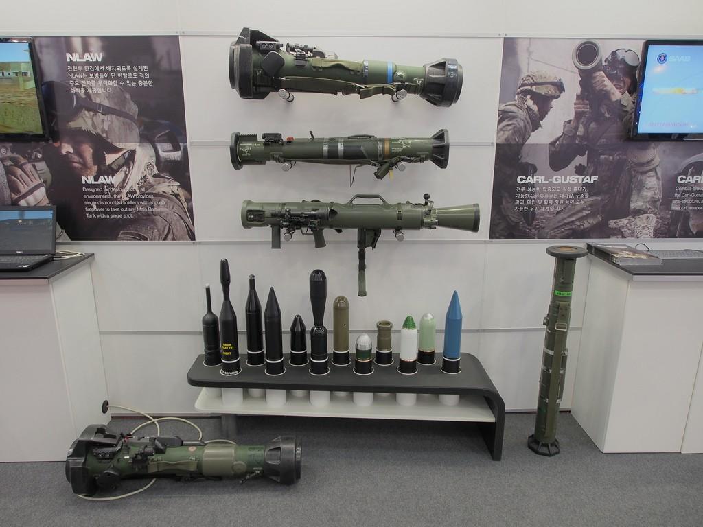미 육군의 표준 제식무기가 된 칼-구스타프