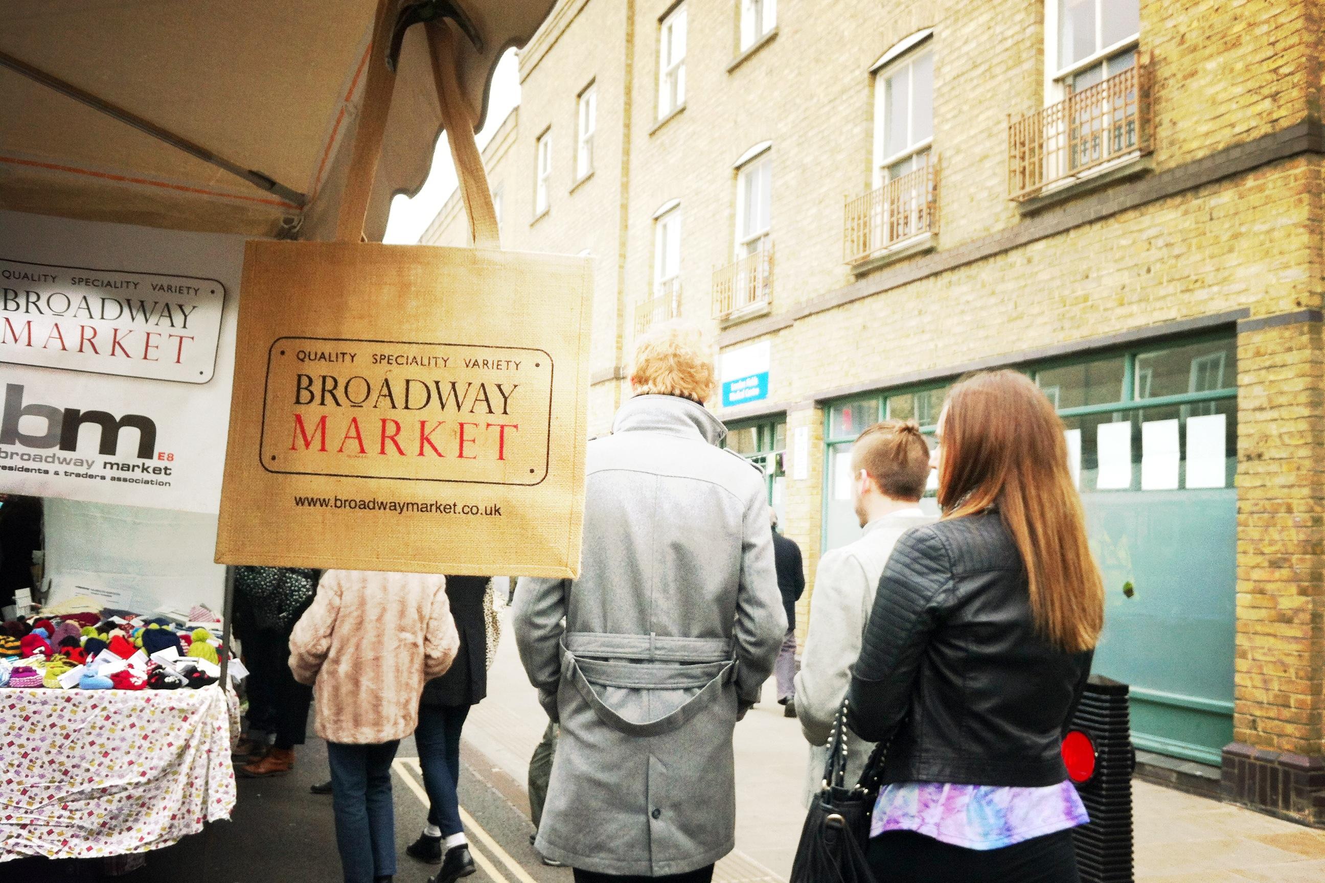 London# Broadway Market