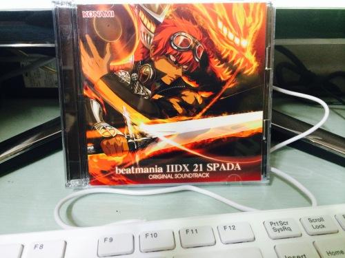 beatmaniaIIDX 21 SPADA ORIGINAL SOUNDTR..